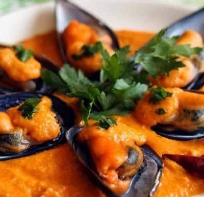 Mejillones-en-salsa-picante-receta