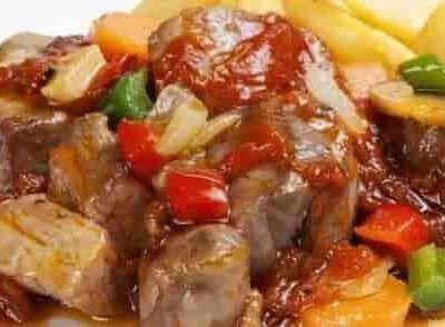 carne-en-salsa-receta