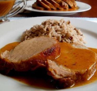 chuleta cerdo en salsa receta thermomix