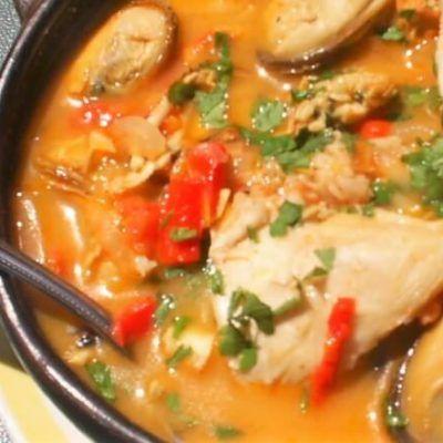 sopa de pescado receta thermomix