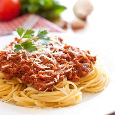 espaguetis-boloñesa thermomix receta