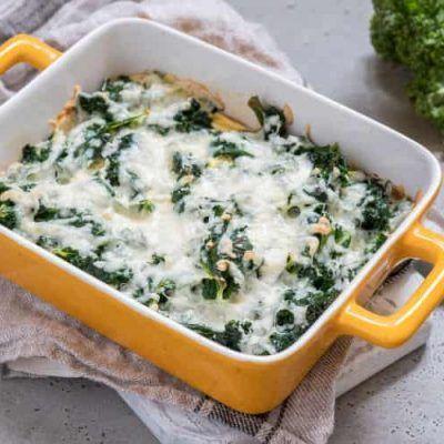 kale con huevos y queso receta thermomix