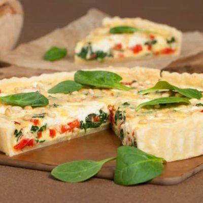Quiche-Espinacas-Pimientos-y-Queso-Feta-receta themomix