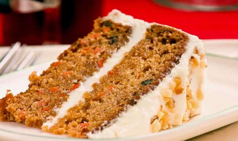 receta pastel de zanahoria carrot cake