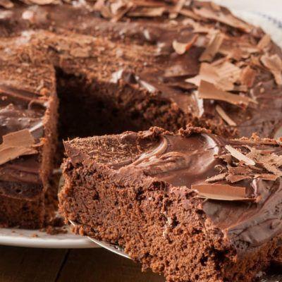 receta de tarta de chocolate con thermomix