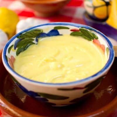 salsa alioli thermomix