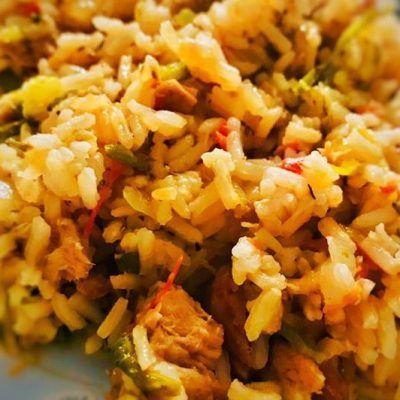 arroz con verduras thermomix
