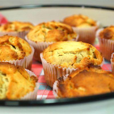 muffins de zanahoria y chocolate blanco thermomix