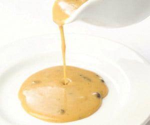 Salsa de pimienta negra