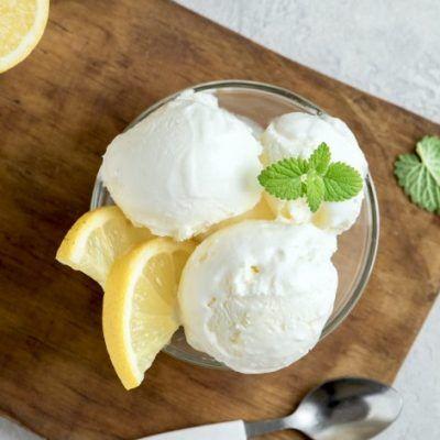helado de limon casero para Thermomix