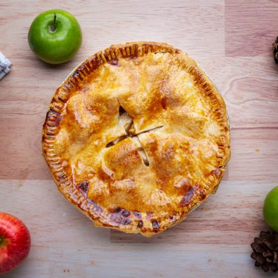 Tarta de manzana casera thermomix